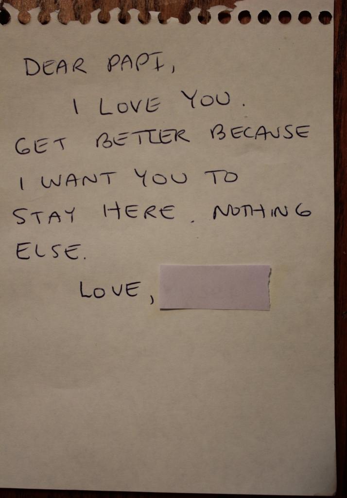 Letter Papi