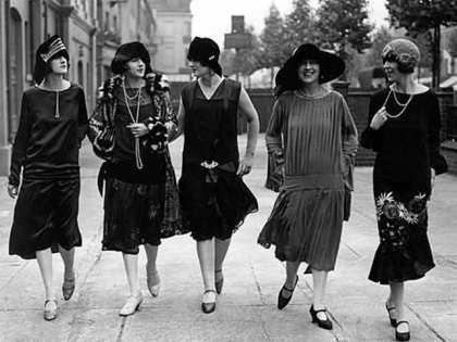 Ah yes, Sex in the City of the 30's - what  jitterbug-and-speakeasy induced shenanigans did these ladies get up to?
