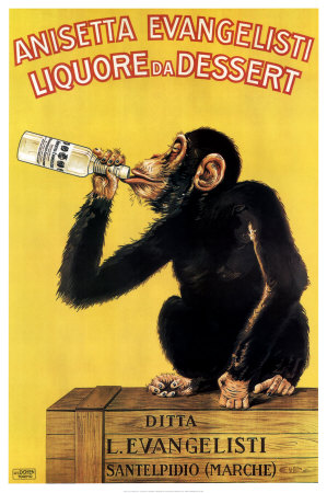 """I don't remember a chugging monkey in my story, but if there was, I would call him """"Pukey"""""""