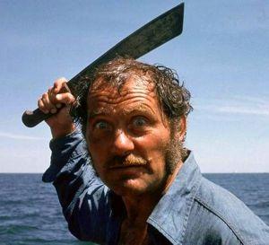 We ain't got no bottle openers, Chief, but I gots me a shark scratcher instead