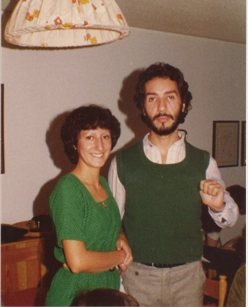 My mother and my uncle.  What can you say, it was the 70's.