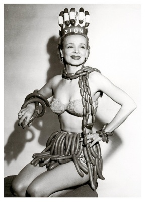 My history never involved sausage linked beauty pageants.  But for some strange reason, I wish it did.