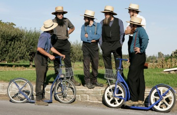 Me and the boys discussing the new ios 7 for girlie bikes.  Neutral colours, we hope.  I am the one with the beard.