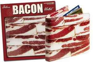 Now THIS - this is something I would kill to have.  Are you kidding me? Its BACON!  Wow.  Just sayin', just in case someone has me in a Secret Santa? hint hint