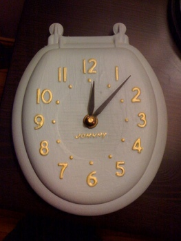 Crap - look at the time!  See? kill two birds with one stone with this snazzy stocking stuffer.