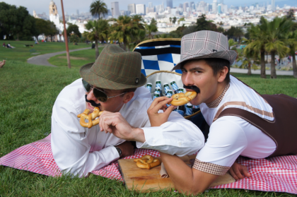 I enjoy nothing more than just hanging out with my fellow capricious mates and just picnic in the frolicky grass.