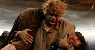 Oh Frodo.  Oh Sam.  Get thee to a room.