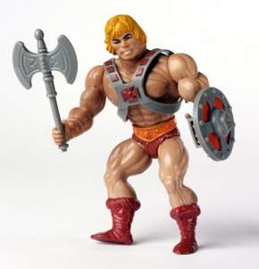 Yeah, we know who you are, He-Man.  No need to show off.  Jeez...get a girlfriend or something.